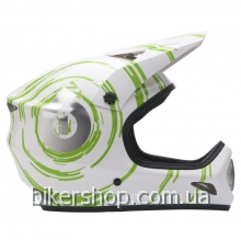 Шлем фуллфейс EVOLUTION INSPIRAL WHITE/LIME XL