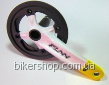 Шатуны Funn Arrow BOB Single chainring 32AL/AL.Guard White/Yellow