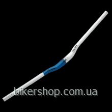 Руль FatBoy BOB White/Blue 785mm 30 rise