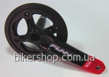 Шатуны Funn Arrow BOB Single chainring 32AL/AL.Guard Black/Red