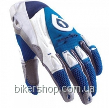 Перчатки  SixSixOne DESCEND GLOVE BLU/WHT SZ XL