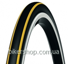 Покрышка Michelin Krylion Carbon Black&Yellow 700X23C