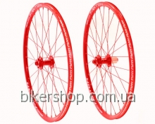 "Колеса Funn Fantom 26""XC  Anod. Red"