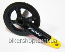 Шатуны Funn Arrow BOB Single chainring 32AL/AL.Guard Black/Yellow