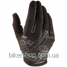Перчатки Royal TYBYN GLOVE BLACK/GRAPHITE M