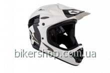 Шлем фуллфейс SixSixOne COMP HELMET WHITE/BLACK M