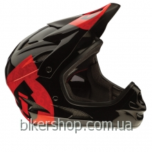 Шлем фуллфейс SixSixOne COMP HELMET BLACK/RED M