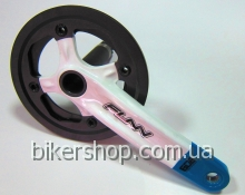 Шатуны Funn Arrow BOB Single chainring 32AL/AL.Guard White/Blue
