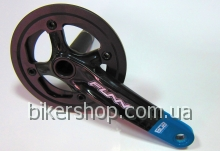 Шатуны Funn Arrow BOB Single chainring 32AL/AL.Guard Black/Blue