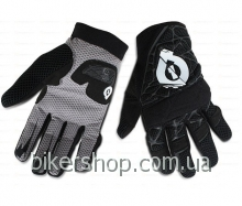 Перчатки  SixSixOne NASTY GLOVE BLACK SZ XL