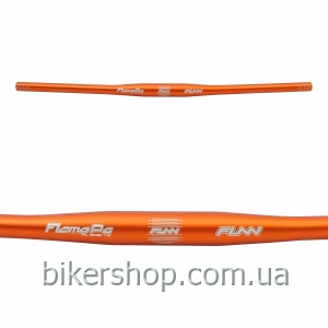 Руль Funn FLAME PG FLAT BAR Ø31.8 PG , 9° Back, 31.8mm, ano. finish Blast Orange 710mm 0 rise