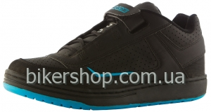 Кроссовки/Велотуфли SixSixOne Filter Shoe BLACK/CYAN 45.5EURO, 12US