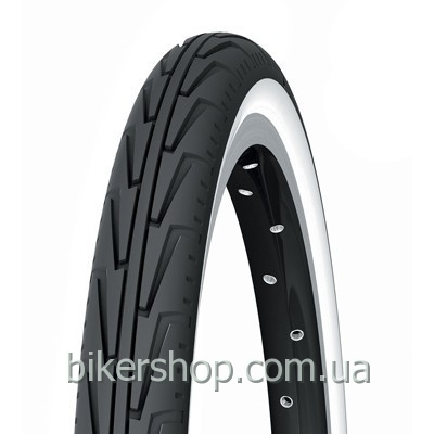 Покрышка Michelin Diabolo City 24X1 3/8X1 1/4 black/white