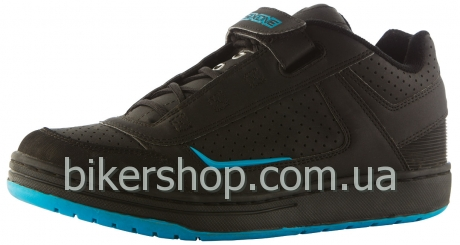Кроссовки/Велотуфли SixSixOne Filter Shoe BLACK/CYAN 42.5EURO, 9.5US