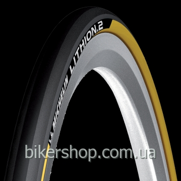 Покрышка Michelin Lithion 2 Black&Yellow 700X23C
