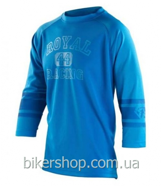 Джерси Royal ATHLETIC  3/4 ROYAL BLUE/ELECTRIC BLUE M