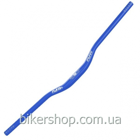 Руль Funn FULL ON BAR Ø31.8 , 7° Back, 0° Up, 31.8mm, ano. Finish Blast Blue 800mm 0 rise