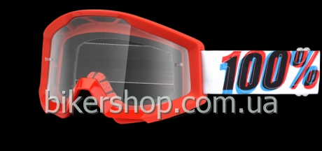 STRATA Moto Goggle 3D - Clear Lens