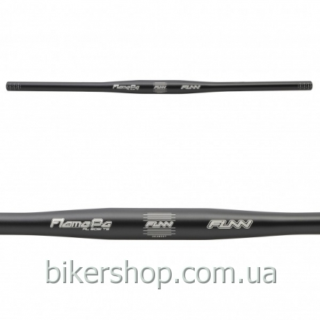 Руль Funn FLAME PG FLAT BAR Ø31.8 PG , 9° Back, 31.8mm, ano. finish Blast Black 710mm 0 rise