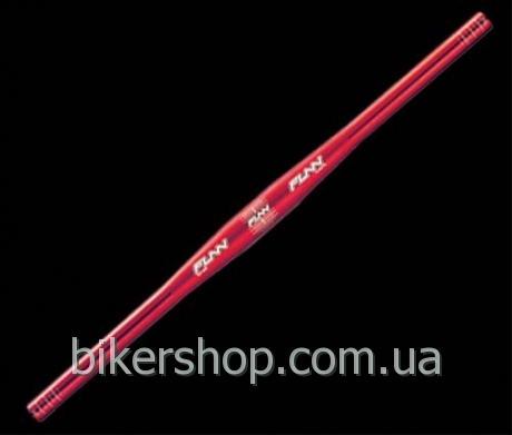 Руль Funn Flat Bar Blast Red 580mm