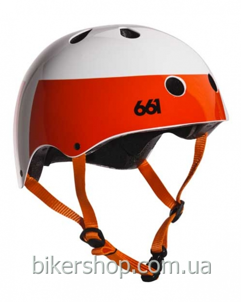 Котелок DIRT LID HELMET WHITE/ORANGE OS (CE)