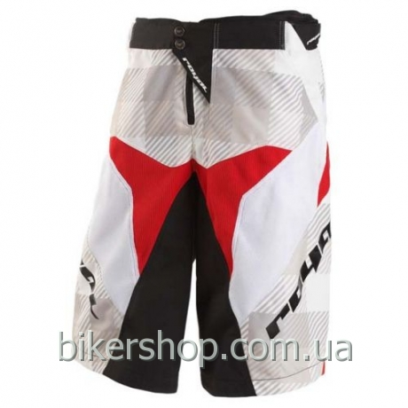 Шорты Royal RACE  RED/WHT/BLK XS