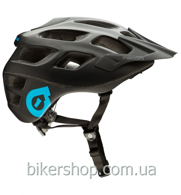 Шлем XC/TRAIL   SixSixOne RECON STEALTH MATTE BLACK S/M