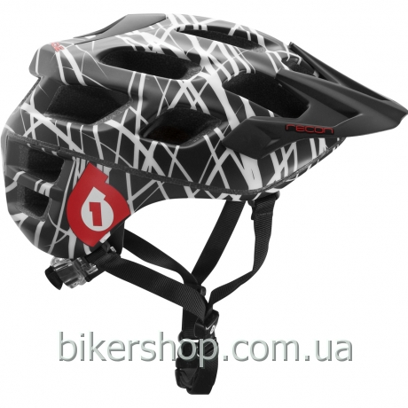 Шлем XC/TRAIL   SixSixOne RECON WIRED BLACK/RED S/M