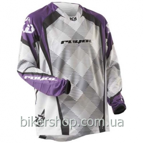 Джерси Royal Race long sleeve PURPLE/WHITE/BLK XS