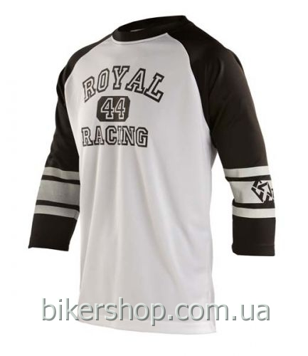 Джерси Royal ATHLETIC  3/4 WHITE/BLACK M