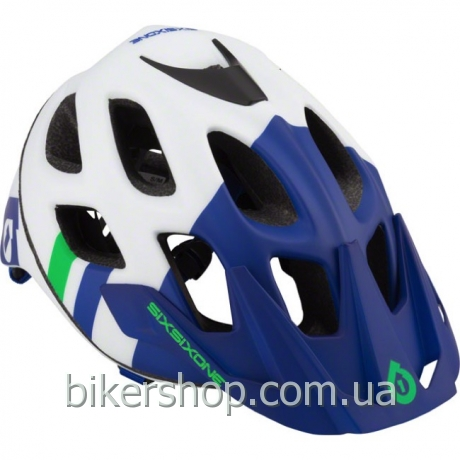 Шлем XC/TRAIL  RECON HELMET BLUE/GREEN L-XL (CPSC/CE)