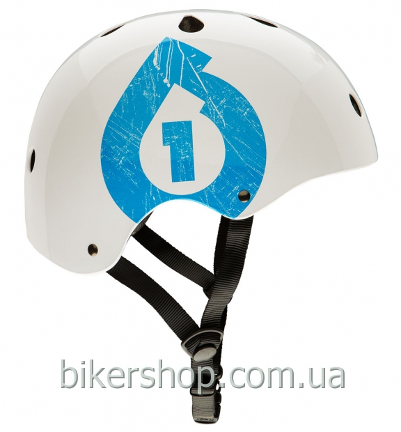 Шлем котелок SixSixOne  DIRT LID ICON WHITE