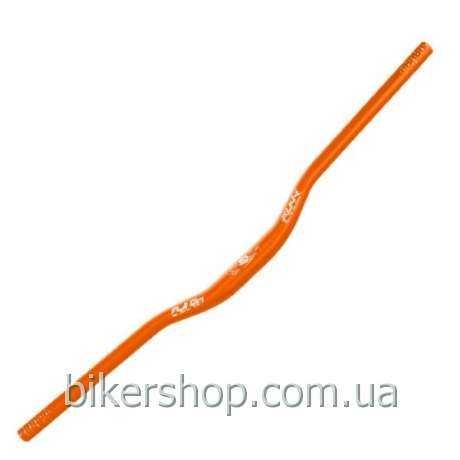 Руль Funn FULL ON BAR Ø31.8 , 7° Back, 0° Up, 31.8mm, ano. Finish Blast Orange 800mm 0 rise