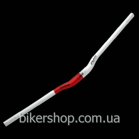 Руль FatBoy BOB White/Red 785mm 15 rise