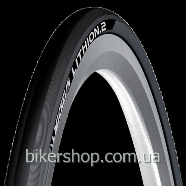 Покрышка Michelin Lithion 2 Dark Grey 700X23C