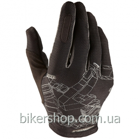 Перчатки Royal TYBYN GLOVE BLACK/GRAPHITE L