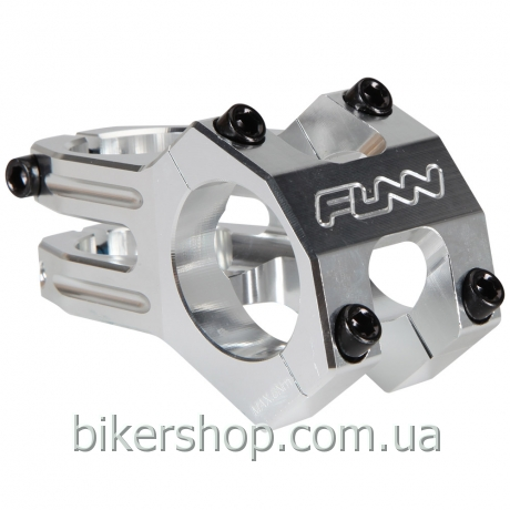 "Вынос Funn FUNNDURO STEM  Ø31.8  FULL CNC, 0° Rise, Steer 1-1/8"" Grey 60mm Ø31.8mm"
