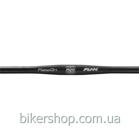 Руль Funn FLAME ON FLAT BAR Ø31.8 , 9° Back, 31.8mm, ano. finish Black 710mm 0 rise