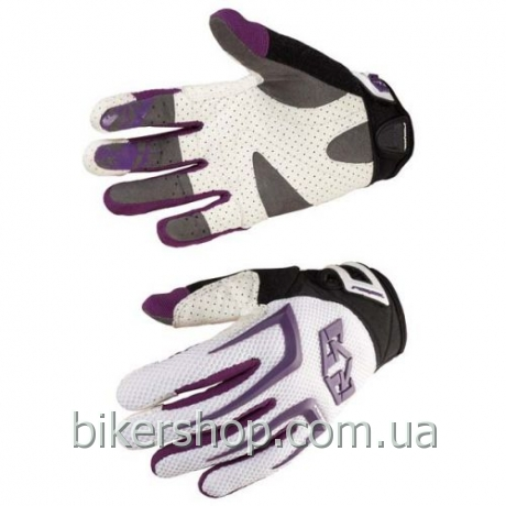 Перчатки Royal PRO  WHITE/PURPLE L