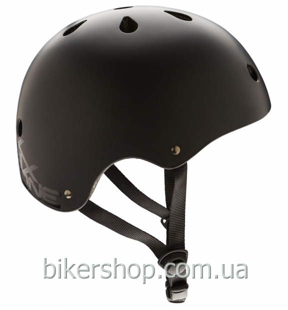 Шлем котелок SixSixOne  DIRT LID STACKED MATTE BLACK/BLACK