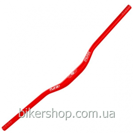 Руль Funn FULL ON BAR Ø31.8 , 7° Back, 0° Up, 31.8mm, ano. Finish Blast Red 800mm 0 rise