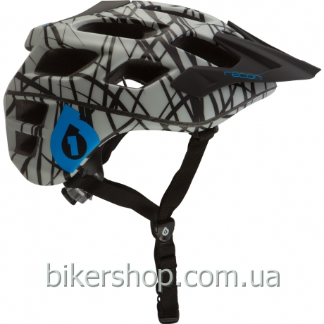 Шлем XC/TRAIL   SixSixOne RECON WIRED GRAY/CYAN S/M