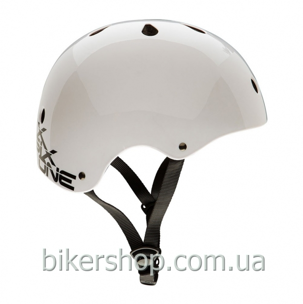 Шлем котелок SixSixOne DIRT LID STACKED WHITE