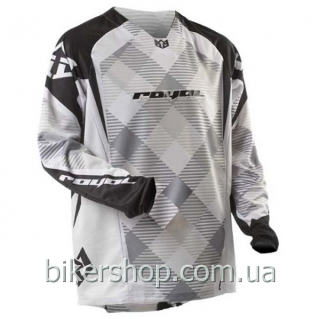 Джерси Royal Race long sleeve STONE/WHITE/BLACK XS