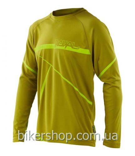 Джерси Royal SLICE OLIVE GREEN/LIME GREEN M