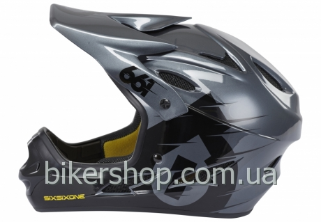 Шлем фулл COMP HELMET BLACK/CHARCOAL L (CPSC/CE)