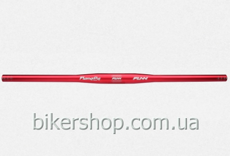 Руль Funn FLAME PG FLAT BAR Ø31.8 PG , 9° Back, 31.8mm, ano. finish Blast Red 710mm 0 rise