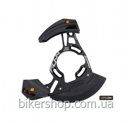 Успокоитель цепи Funn ZIPPA DH ISCG05/External BB mount (with adaptor) Tooth Capacity:32T~38T Ano. Grey/Black