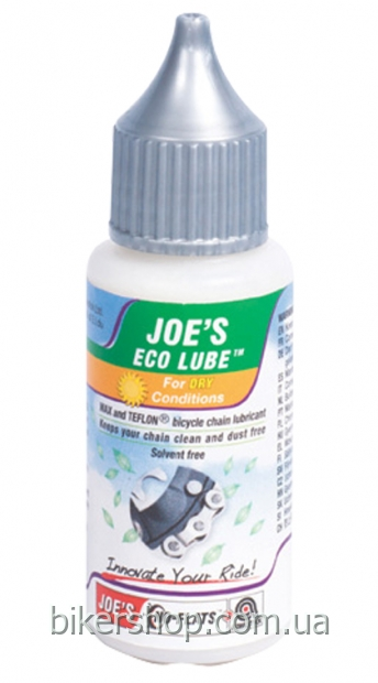 Смазка для цепи JOE'S ECO NANO LUBE DRY 30 ml
